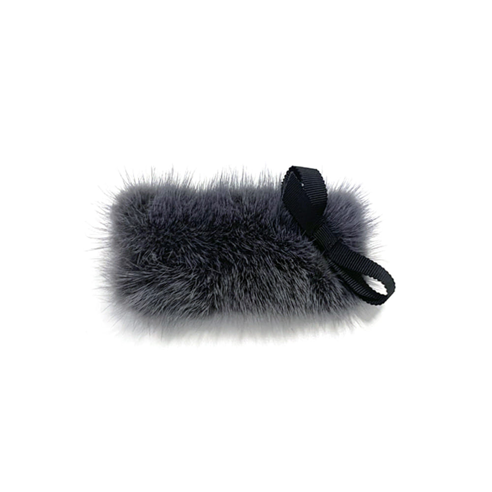 mink square hairpin (gray)