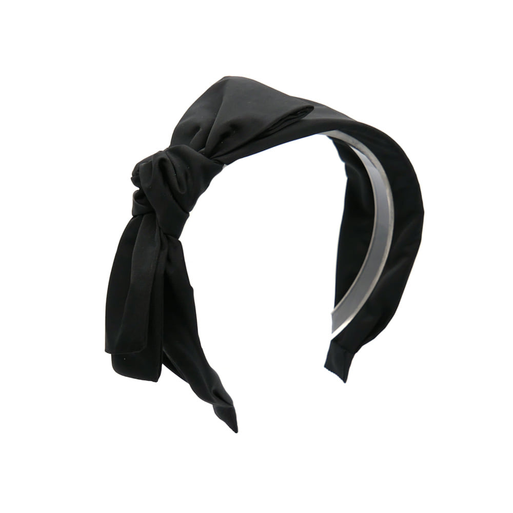 pocono ribbon hairband (black)