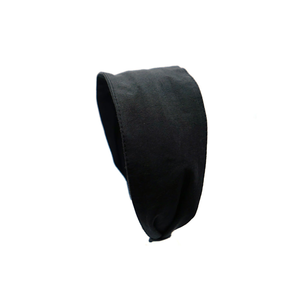 basic cotton hairband (black)