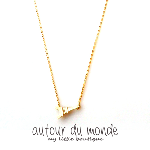 eiffel tower necklace (2컬러)