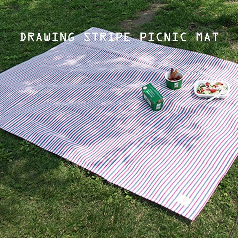drawing stripe picnic mat (S/L)