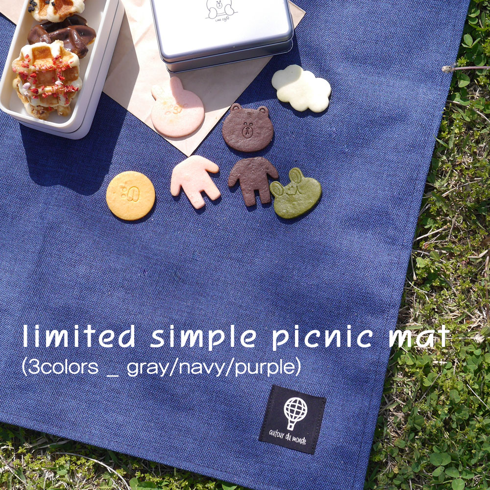 limited simple picnic mat (3colors)