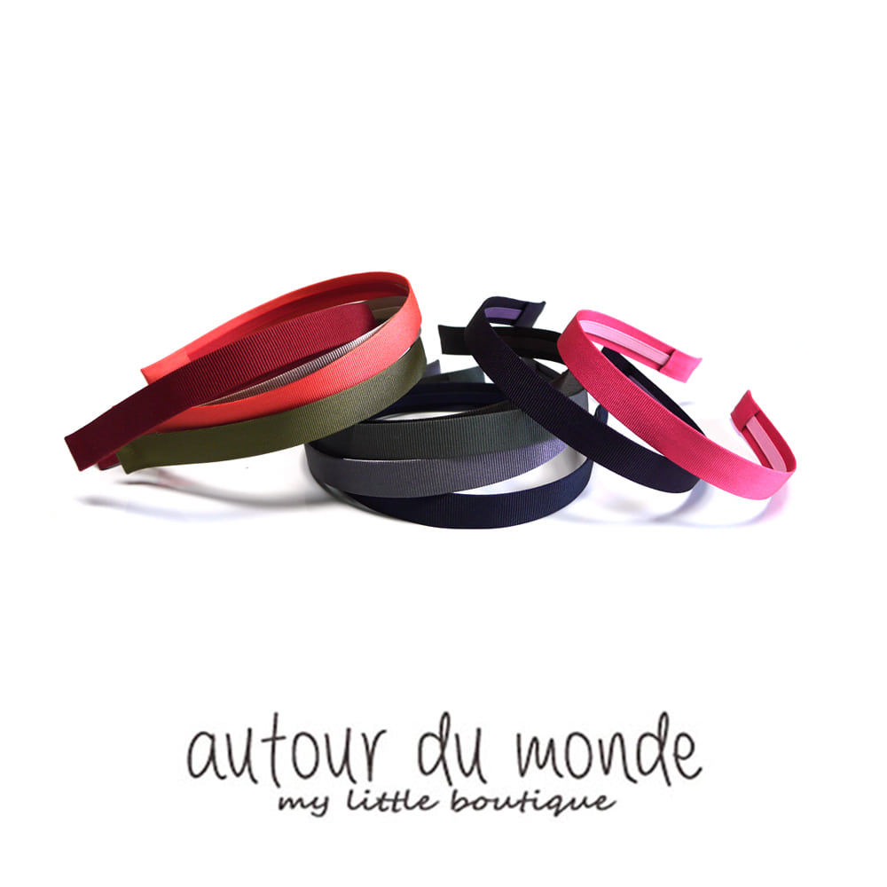 slim color hairband (11colors)